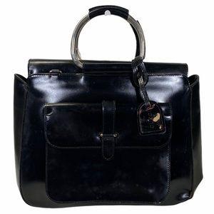 Gucci Satchel bag Leather Black Handbag